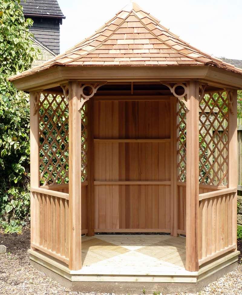Victorian Backyard Sheds : Garden Gazebos  Victorian Garden Buildings
