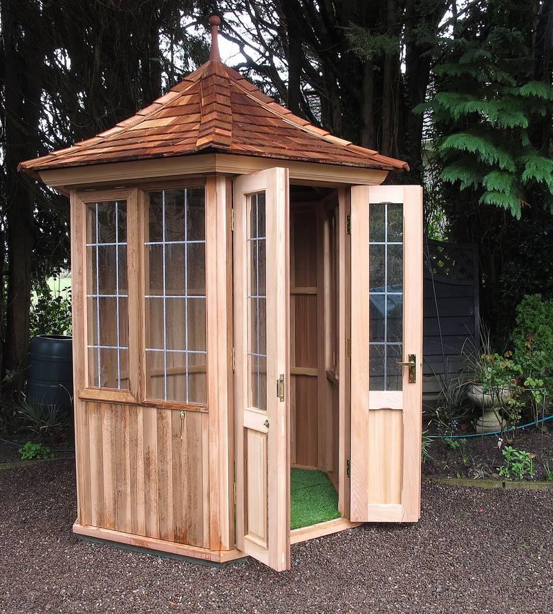 Garden Summerhouse French Doors & Garden Summerhouse French Doors - Victorian Garden Buildings