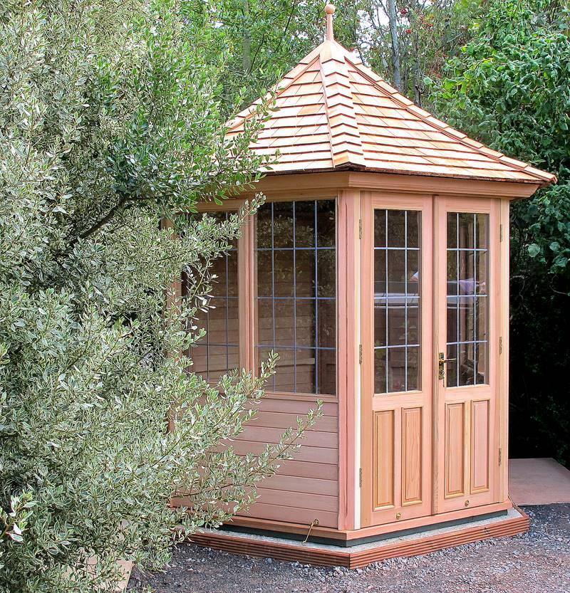 Garden summerhouses victorian garden buildings for Luxury garden buildings