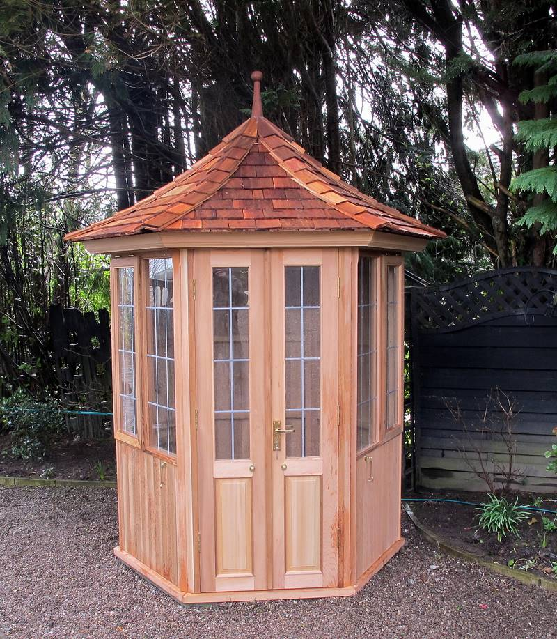 Garden summerhouses victorian garden buildings for Victorian garden house